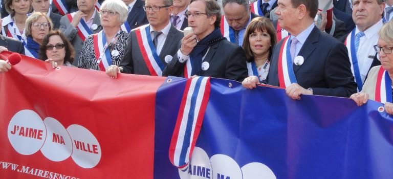 Les maires en colère ont donné de la voix au parc floral