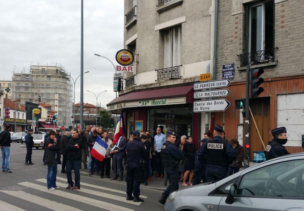 Manif FN Le Perreux sur Marne