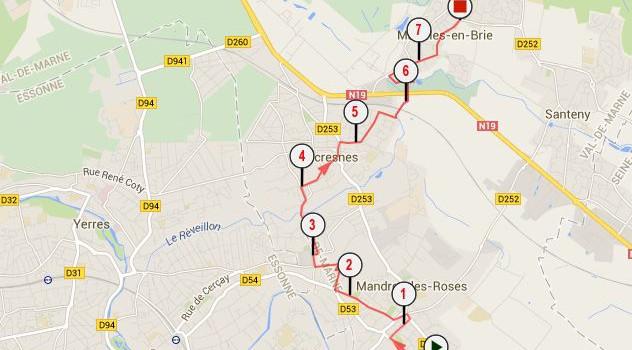 Balade en vélo à la découverte de la jonction cyclable Villecresnes-Marolles