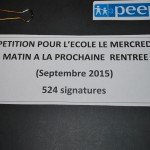 Petition Peep