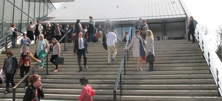 A l'Upec, les étudiants d'AEI pétitionnent pour avoir leur notes