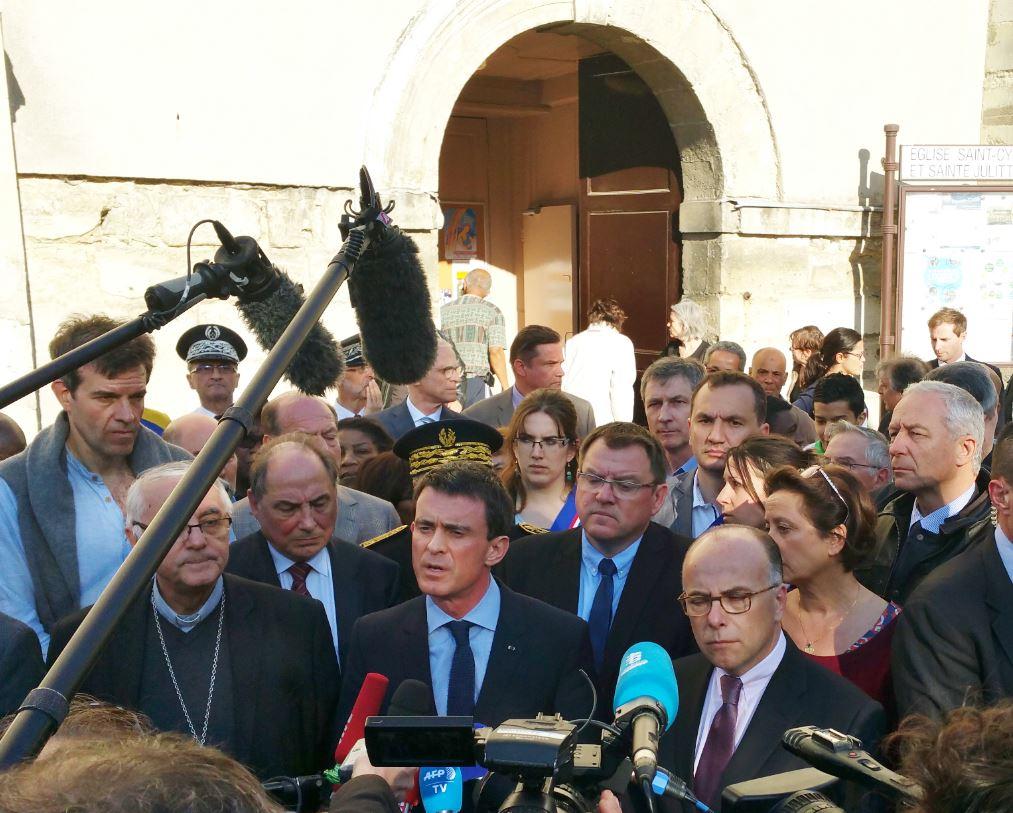 Valls et Cazeneuve Villejuif