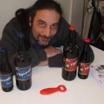 Alain Belarimi et ses bières