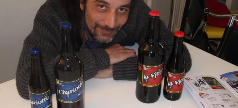 Alain Belamiri prépare sa troisième bière made in Vitry-sur-Seine