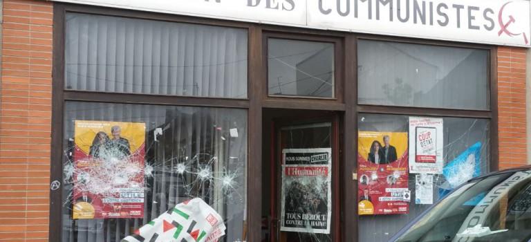 La permanence PCF de Gentilly vandalisée