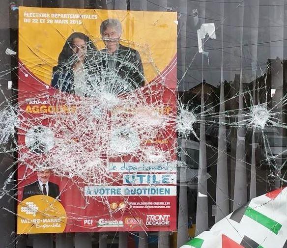 Attaque maison des communistes Gentilly