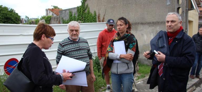 Construction de logement d'urgence à Limeil : la maire envoie la police