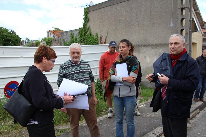 A gauche, Françoise Lecoufle, et à droite, Bernard Baudry