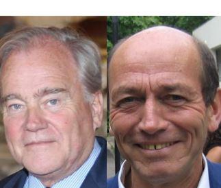 Michel Herbillon et Christian Cambon au bureau national des Républicains