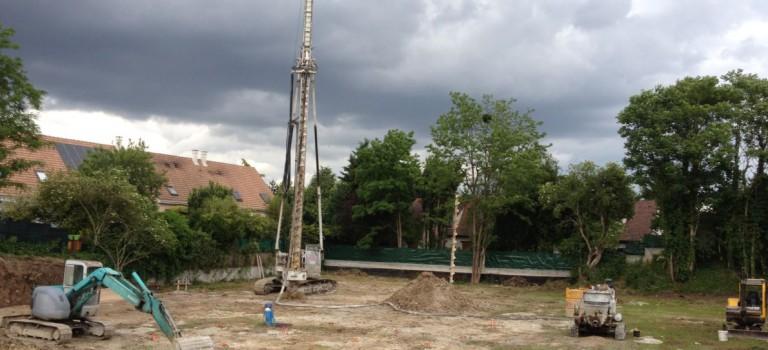 Le chantier du centre pour mères isolées a bien démarré à Limeil-Brévannes