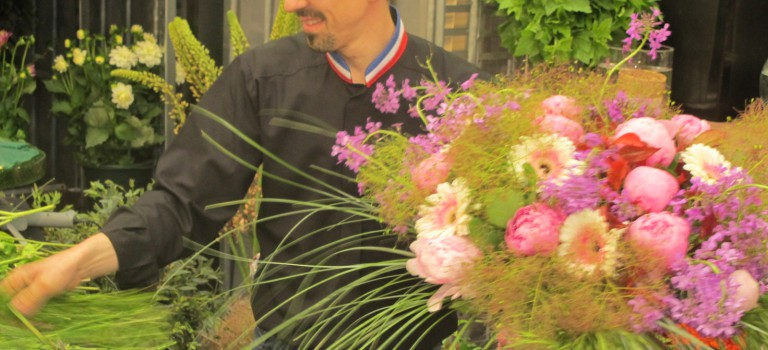 Au MIN de Rungis : les fleuristes misent sur le made in France