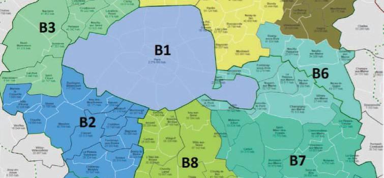 Territoires de la métropole du Grand Paris : les 4 hypothèses officielles