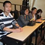 Paul Wang et sa famille