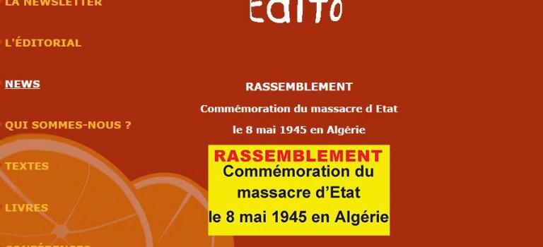 Histoire de l'immigration algérienne et massacres de Setif en débat à Champigny