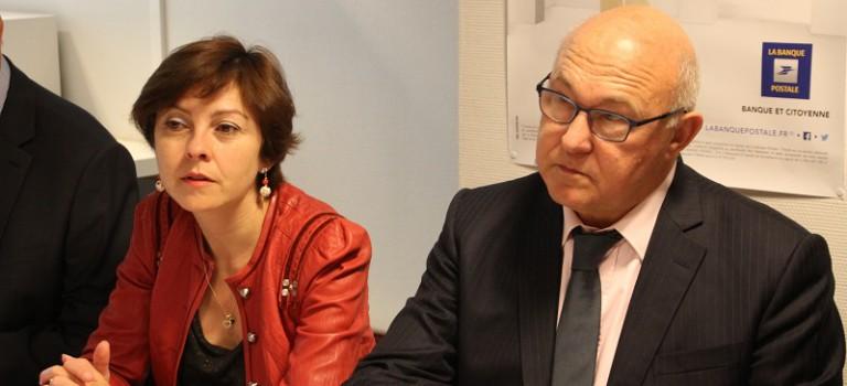 A Ivry-sur-Seine, Michel Sapin demande aux banques de jouer le jeu