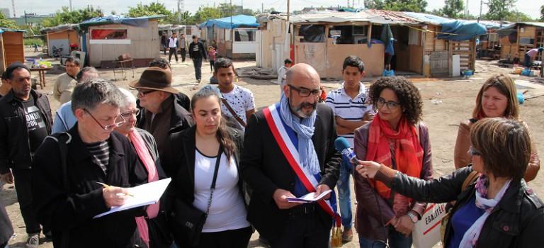 Conférence régionale sur les Roms : le maire d'Ivry-sur-Seine insiste