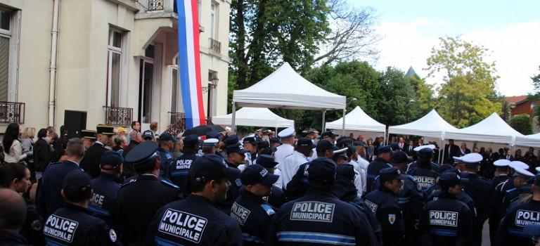 Vive émotion lors de l'hommage à la policière municipale Aurélie Fouquet