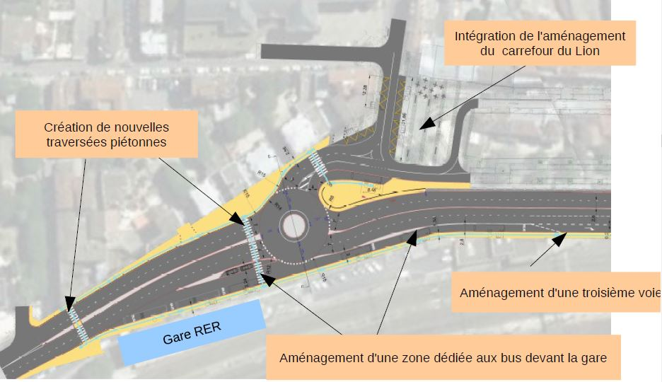 Amenagement Place Semard Credit Dirif