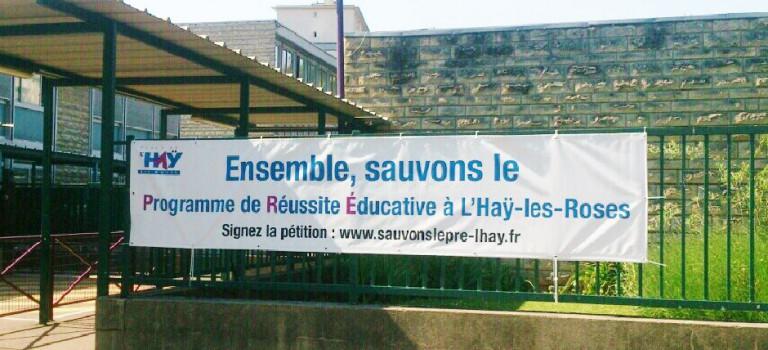 L'Haÿ-les-Roses pétitionne pour son budget réussite éducative