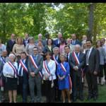 Exécutif municipal Chennevières Juin 2015 credit ville Chennevieres