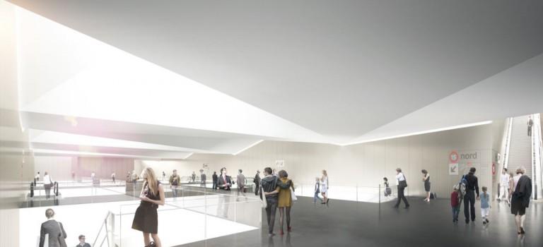 Le permis de construire de la future gare de Créteil l'Echat est signé