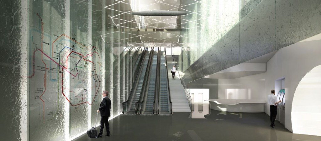 Gare Grand Paris Express Issy les Moulineaux Jerome Brunet Brunet Saunier Architecture 1