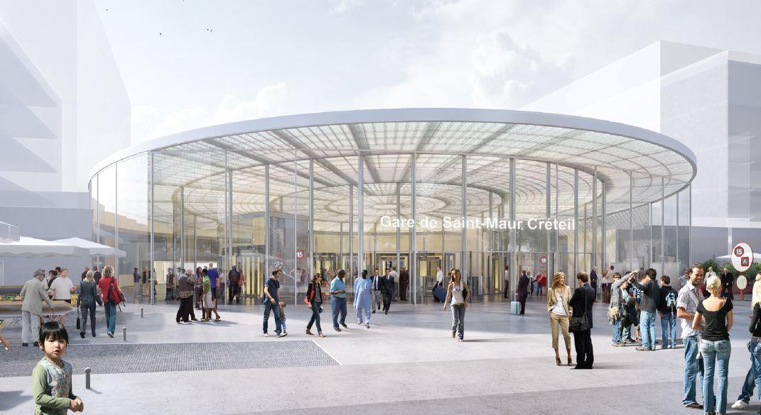 R union sur le chantier de la gare grand paris express saint maur des foss s 94 citoyens for Comboulevard de creteil saint maur