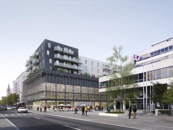Gymnase Hauts de Joinville Credit TOA Architectes et Associes
