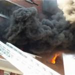 Incendie Alfortville