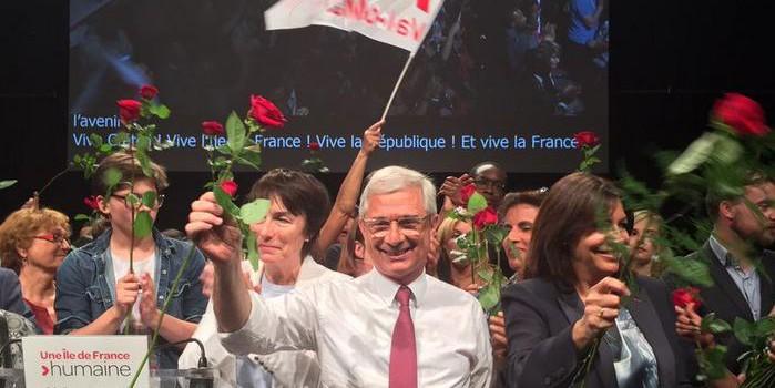Claude Bartolone galvanise le Palais des sports de Créteil