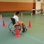 parcours-fauteuil-collège-prunais-centre-de-rééducation-villiers-juin-2015