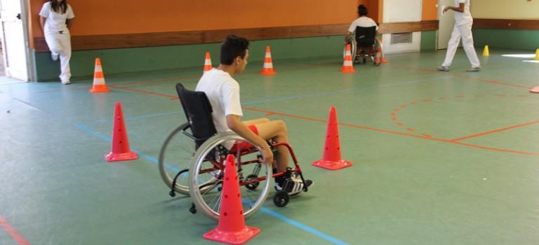 Les collégiens des Prunais se sensibilisent au handicap au CRF de Villiers-sur-Marne