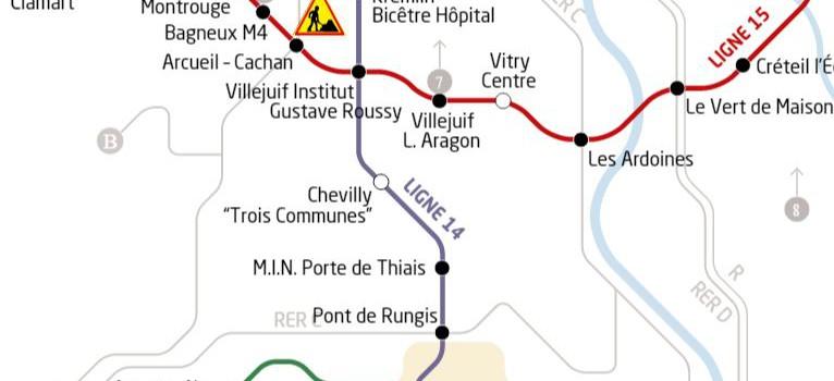 Prolongement de la ligne 14 jusqu'à l'aéroport d'Orly : l'enquête publique commence