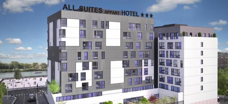 Futures résidences hôtelière et étudiante à Choisy port