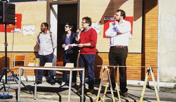 Permanence vandalisée à Gentilly : les communistes mobilisés