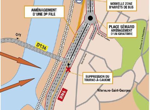 Le détail des projets pour dissoudre le bouchon du pont de Villeneuve