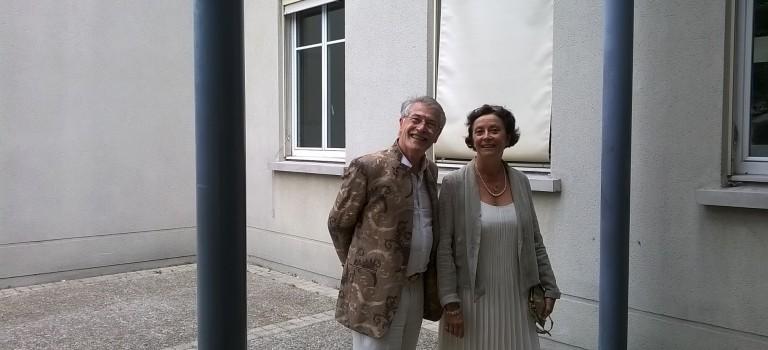 Alain Lipietz épouse Nathalie Gandais à Villejuif