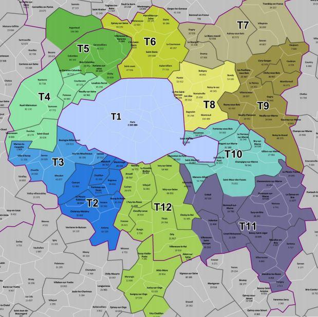 12 territoires