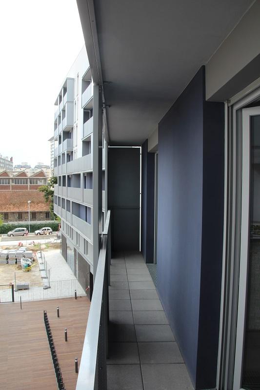 Les logements, livrés meublés, disposent quasiment tous d'un balcon