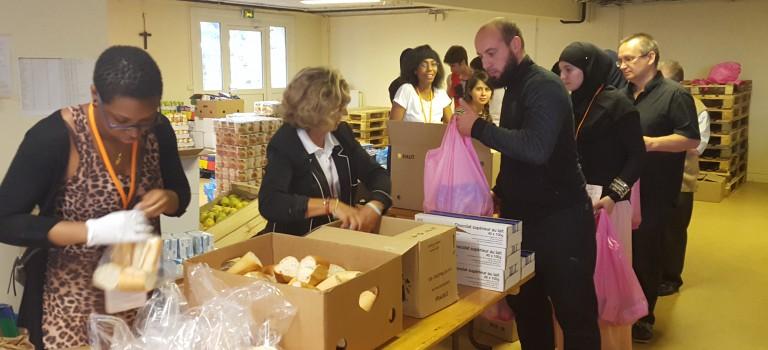Plus de 47 000 repas servis en Août par le secours alimentaire