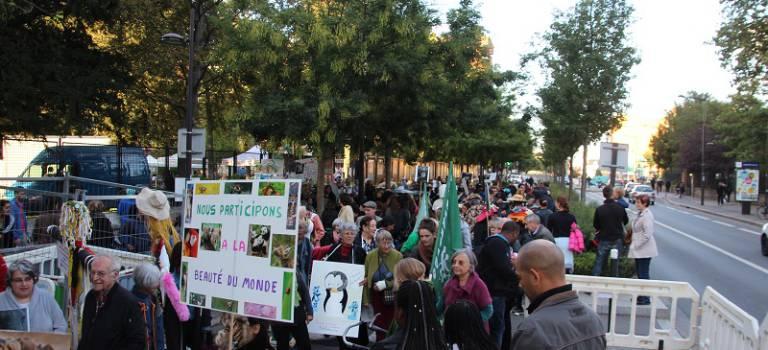 Gros succès à Ivry-sur-Seine pour les Alternatiba