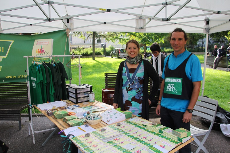 Alternatiba1-Ivry-Fanny et Yannick-septembre-2015