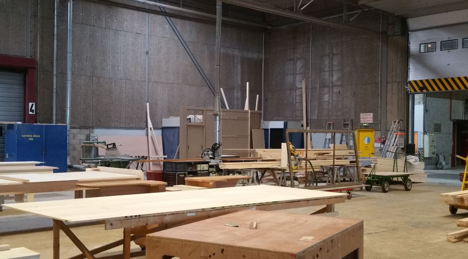 ateliers decors studios de Bry