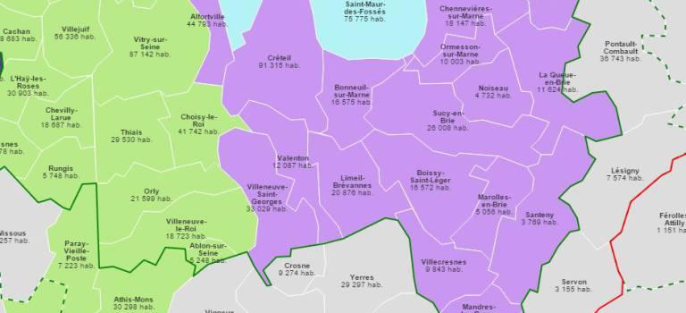 Territoires du Grand Paris: les maires du centre Val-de-Marne vont aussi à Matignon