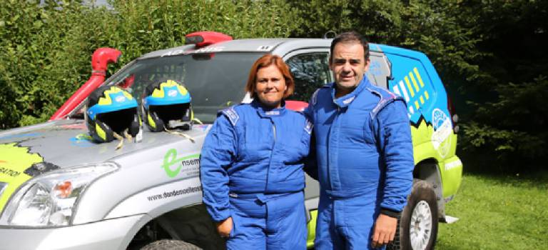 Deux Sucyens préparent le Dakar 2016 au profit de la lutte contre la leucémie