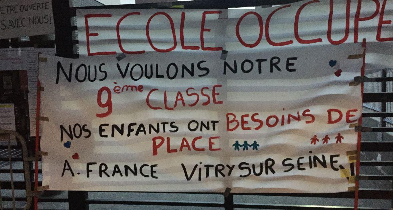 ecole occuppe anatole france vitry septembre 2015 2
