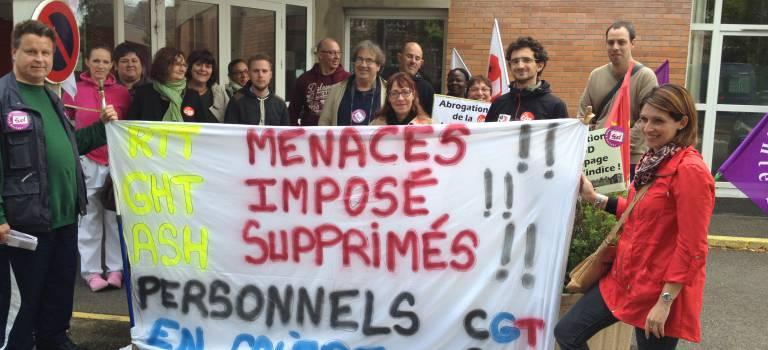 Les agents des hôpitaux de Saint-Maurice s'inquiètent de l'externalisation