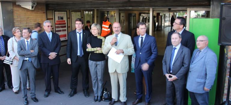 La droite en campagne sur les transports à Villiers-sur-Marne
