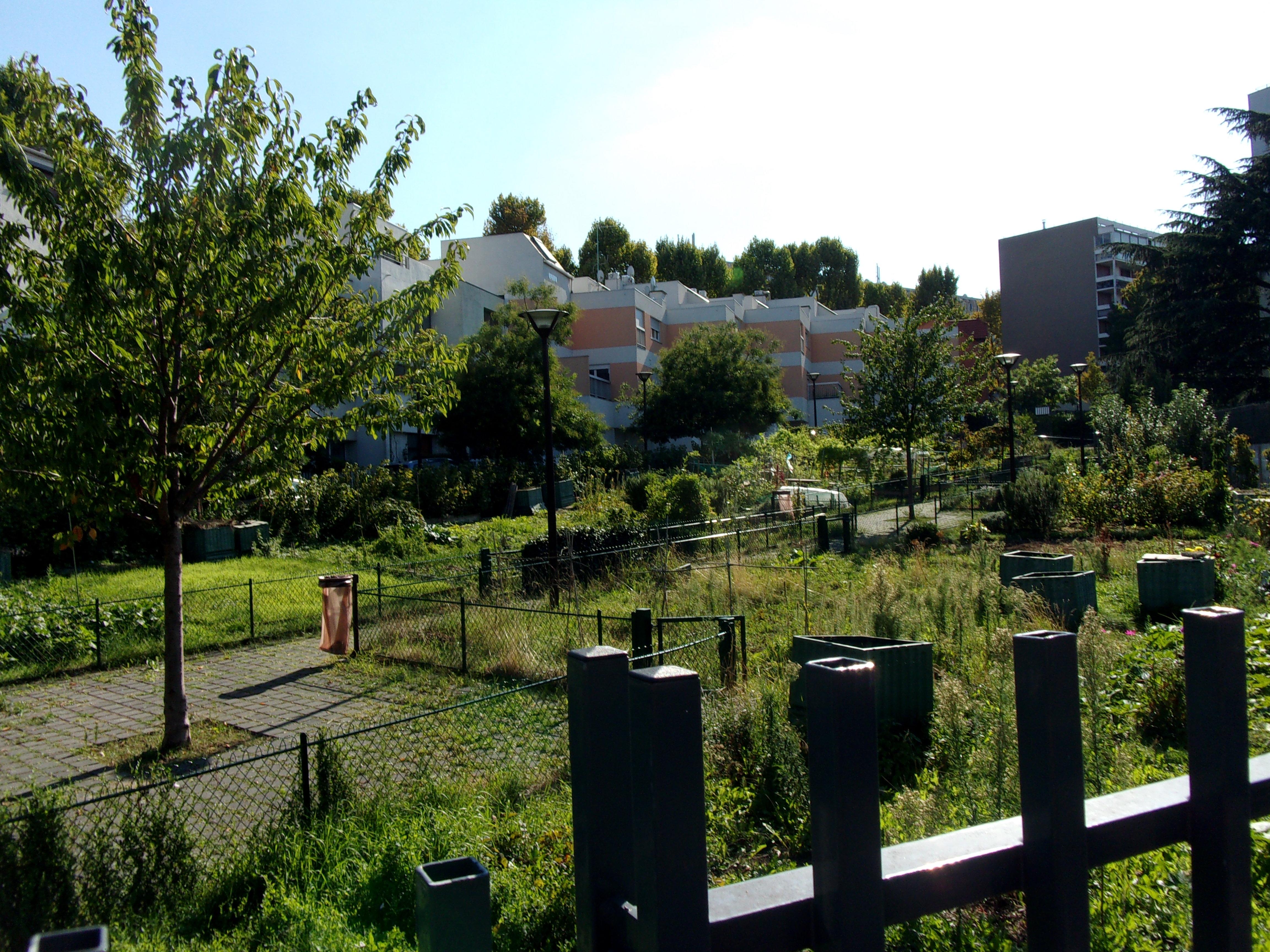 Jardins Jean Moulin Kremlin Bicêtre