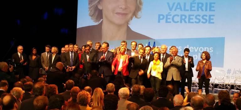 Régionales Ile-de-France : Valérie Pécresse remplit le pavillon Baltard